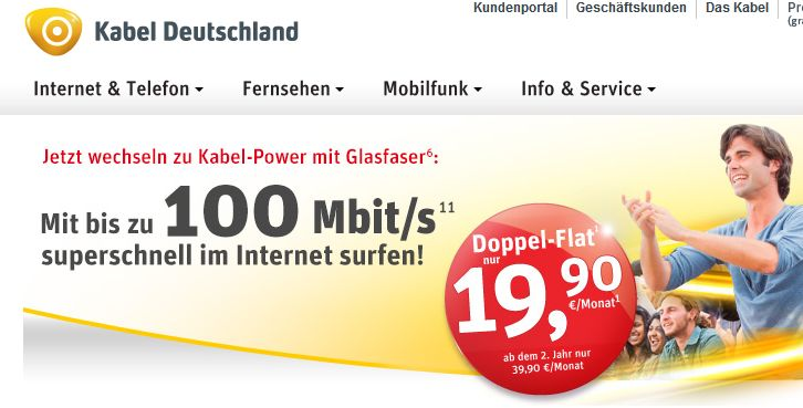 weniger wettbewerb kabel deutschland f r 10 7 mrd euro an vodafone e commerce netz trends. Black Bedroom Furniture Sets. Home Design Ideas