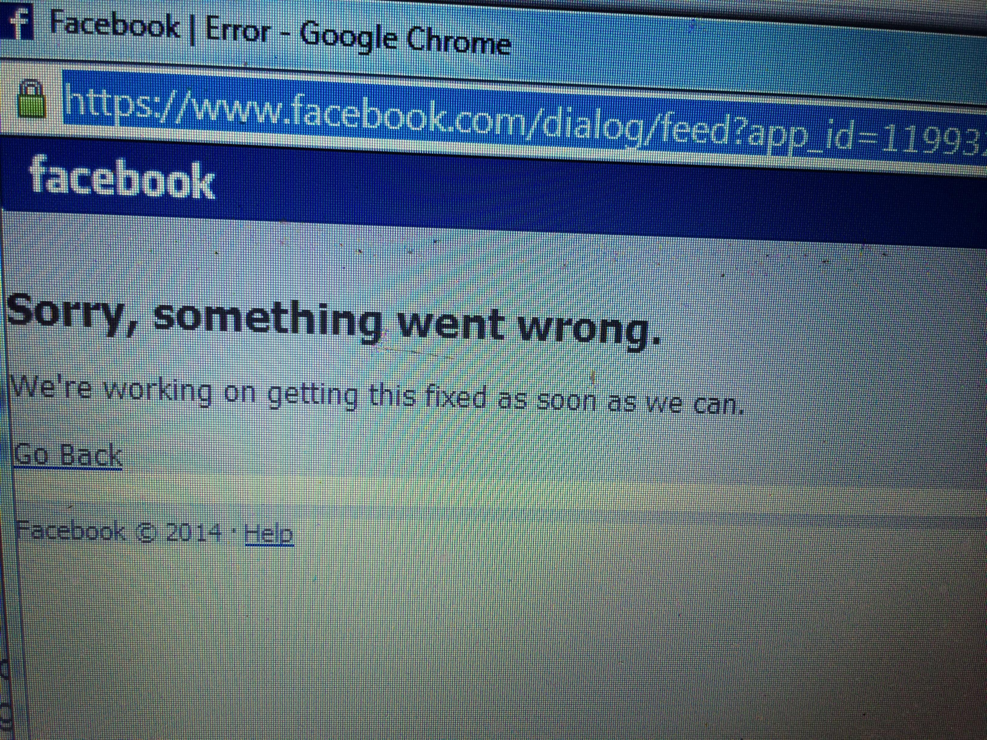 Ausfall Facebook
