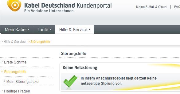 Kabel Deutschland Hotline Telefon